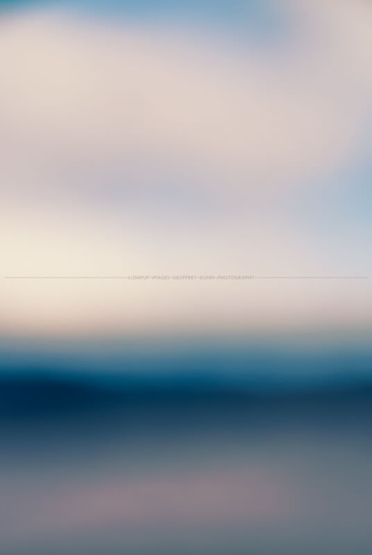blurred landscape of indeterminate origin
